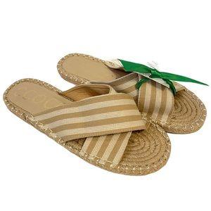 New CCOCCI Ocean Espadrilles Slip On Sandals